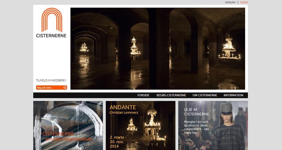 Cisternerne - Joomla CMS