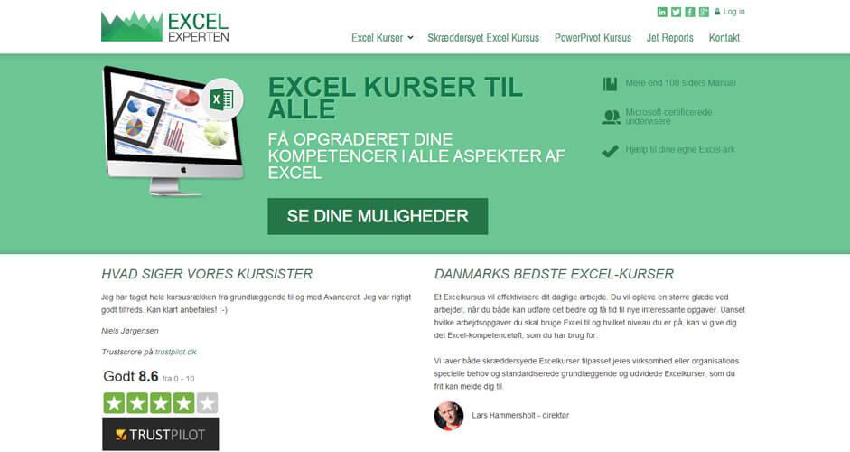 Excelexperten - responsive design